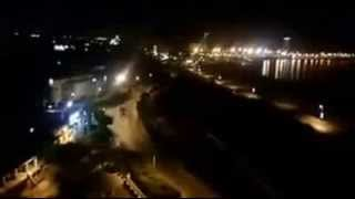 فيديو جديد لاشتباكات مليشيات مصراتة سوق الجمعة تصورير من فندق المهاري راديسون بلو