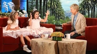 Sophia Grace & Rosie on Their New Siblings