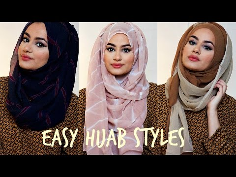 Hijab Tutorial For Easy Hijab Styles! | hijabhills