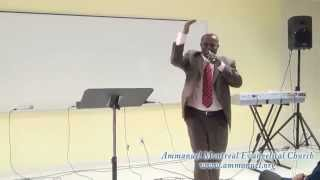 ፓስተር አለማየሁ እሸቱ (Jan 15, 2012) - Ammanuel Montreal Evangelical Church