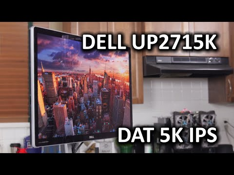 5K IPS Display - Dell UP2715K