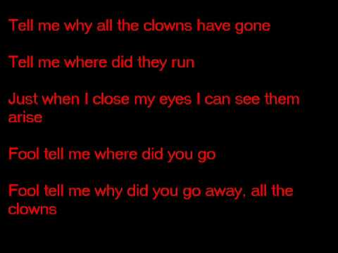 Edguy All the Clowns Lyrics (видео)
