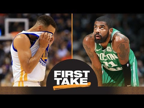 First Take debates impact of Steph Curry and Kyrie Irving injuries on playoffs | First Take | ESPN