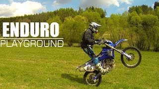 9. RSWR Spring enduro playground action with 2006 WR450F