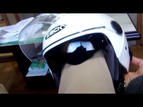 ダブルシールドヘルメット ZACK ...