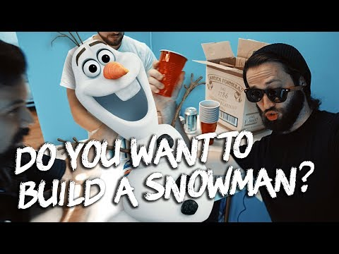 Do You Want to Build a Snowman? (Disney's Frozen) - METAL DEATHCORE EDGY SCREAMO COVER GONE WRONG (видео)