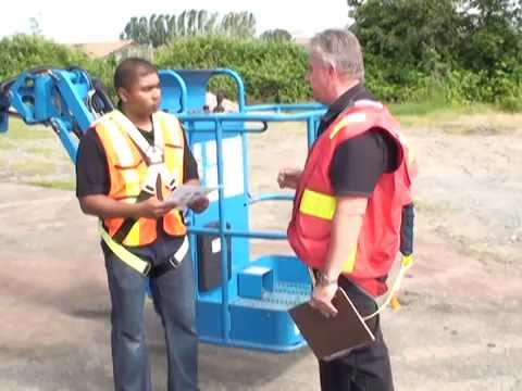 Aerial Lift Operator Familiarization Training Part 2 (Boomlift)