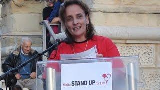 Protect Human Life - Dr. Miriam Sciberras