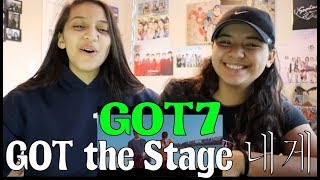 GOT7 [GOT The Stage] '내게' MV REACTION!!!