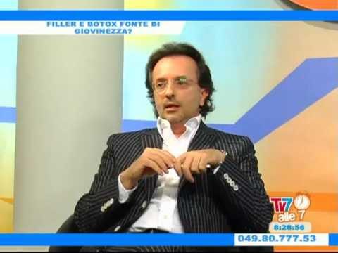 Intervista al Dott. Domenico Miccolis TV7 alle 7 - FILLER E BOTOX (Prima Parte 1)