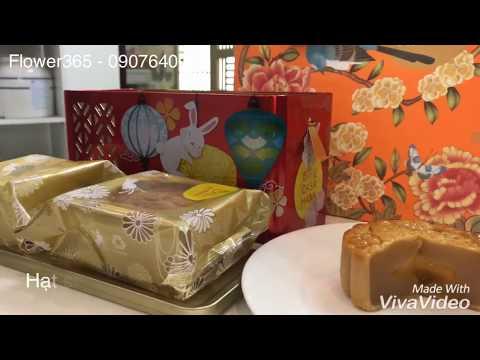 Hộp bánh trung thu CASAHANA Mid Autumn Joy Red 04 bánh*180g