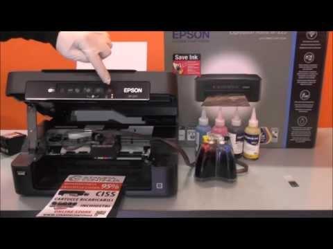 Installazione Ciss per Epson Expression Home XP 225 con cartucce 18