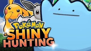 LIVE SHINY DITTO HUNTING! Pokemon Let's Go Pikachu & Eevee Shiny Hunting w/ HDvee