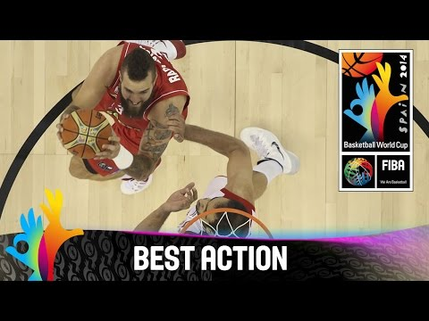 Iran - Watch Serbia's amazing fast break against Iran. The 2014 FIBA Basketball World Cup will take place in Spain from 30 August - 14 September and will feature the best international players from...