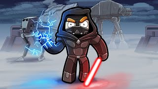 Playing MINECRAFT as a SITH LORD! (Star Wars Mod)