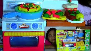 Play-Doh Meal Makin Kitchen Playset Make Play-Doh Foods Creations