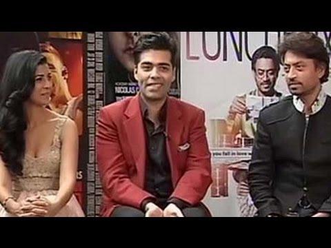 Karan Johar, Irrfan on The Lunchbox experience