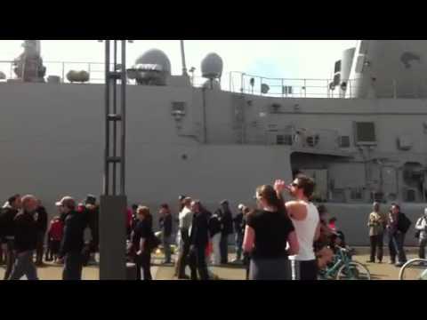 nz navy ship open day