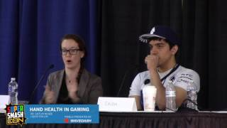 Prevent hand pain!!! [Hand Health Panel from SSC – Chillin and Dr. McGee]