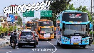 Video Nah.. ini baru MANTEP SUOSS SPOKK SPOKK   Rombongan 16 Unit Bus Agam Tungga Jaya MP3, 3GP, MP4, WEBM, AVI, FLV Januari 2019