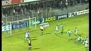 Rene Wagner trifft zum 3:0 gegen Austria Salzburg