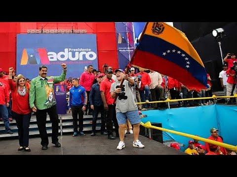 Βενεζουέλα: Μαδούρο – Μαραντόνα μαζί στη σκηνή