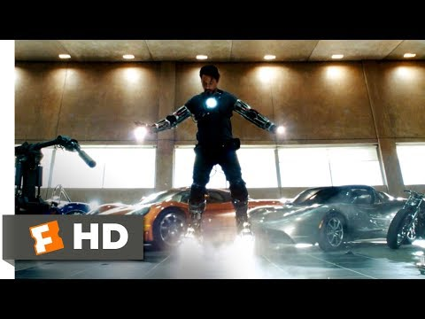 Iron Man (2008) - Yeah, I Can Fly Scene (6/9) | Movieclips