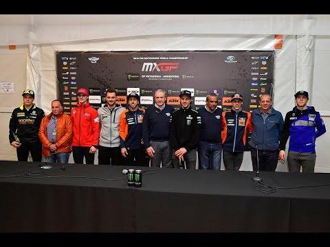 2019 FIM Motocross World Championship Opening Press Conference - Thời lượng: 33 phút.