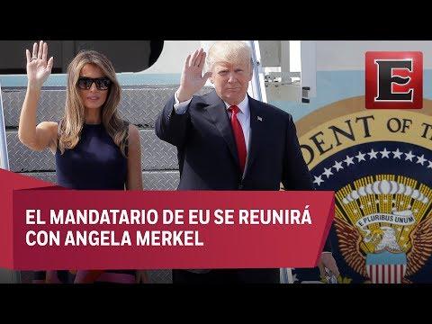Trump llega a Alemania para cumbre del G20