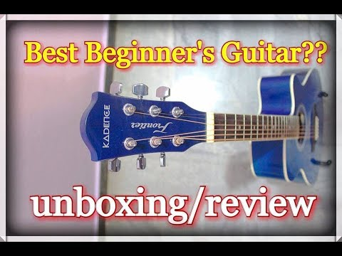 Kadence Frontier Series Acoustic Guitar (Blue)  – Unboxing & Review in Hindi