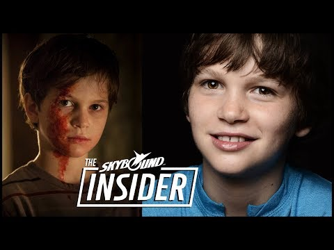 Gabe Bateman - Outcast Season 2 & Dangerous Book for Boys!