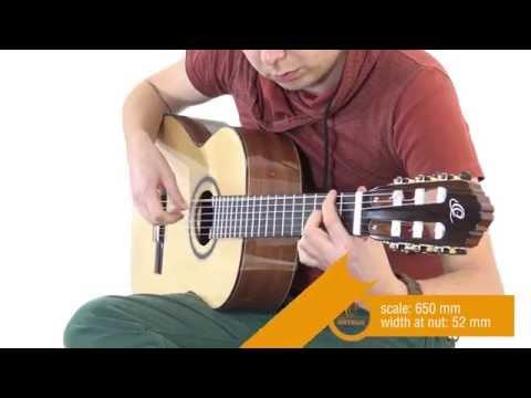 ORTEGA GUITARS | M5CS - Custom Master Selection Series