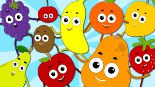 Fruits Song Learn Numbers With Fruits