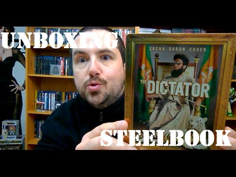 THE DICTATOR BLURAY STEELBOOK UNBOXING