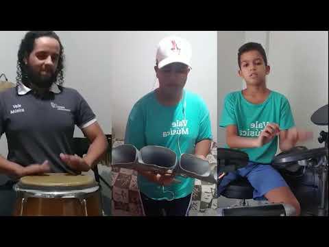 DRUM PARADE 2020.  Grupo de Percussão Vale Música