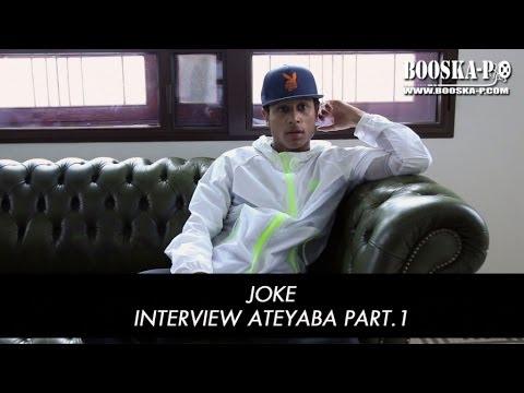 joke - ABONNEZ-VOUS ICI : http://bit.ly/1p06PQ8 Joke : ''Je ne cherche pas à surprendre, je fais que ce qui me plait !'' [Interview 1/2] Découvrez la première parti...