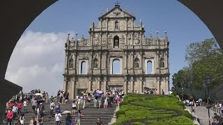 Macau Macao  city pictures gallery : Historic Center of Macau, China in 4K (Ultra HD)