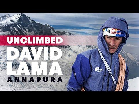 David Lama an der Annapurna