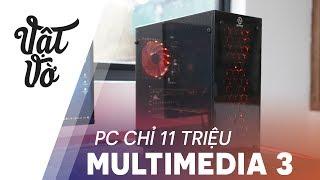 PCAP Multimedia 3 với mức giá chỉ hơn 11 triệu dành cho những bạn cần làm đa phương tiện từ chỉnh sửa hình ảnh, video với sự quay trở lại của AMD, Ryzen 5 hứa hẹn cho cấu hình mạnh mẽ với mức giá vô cùng hợp lý. Hãy cùng mình trải nghiệm case máy tính PCAP Multimedia 3 tới từ An Phát PC📣 Để cập nhật giá bán mới nhất của sản phẩm PCAP Multimedia 3 hãy truy cập vào: http://www.anphatpc.com.vn/bo-case-may-tinh-pcap-multimedia-3_id22956.html---------❇️ Xem các video game, ứng dụng hay cho smartphone: https://goo.gl/GuI25l✴️ Đánh giá/tư vấn các phân khúc dưới 3⃣️ triệu:https://goo.gl/EF0QKF✳️ Đánh giá/tư vấn các phân khúc 4⃣️ triệu: https://goo.gl/FVrKJ7✳️  Đánh giá/tư vấn các phân khúc 5⃣️ triệu: https://goo.gl/YlrYkh✳️ Đánh giá/tư vấn các smartphone phân khúc 7⃣️ triệu: https://goo.gl/YZAI0g✴️ Đánh giá/tư vấn các smartphone phân khúc 9⃣️ triệu:https://goo.gl/Q0X5OB⁉️⁉️ Video review, trên tay, các sản phẩm điện thoại, giá bán rẻ nhất, cửa hàng mua uy tín nhất, sản phẩm tốt nhất trong tầm giá và các tư vấn, lời khuyên, video so sánh các sản phẩm cần mua, đánh giá sản phẩm công nghệ, điện thoại di động, máy tính bảng, sản phẩm xách tay Hàn Quốc, Nhật Bản, sản phẩm chính hãng. Các video đánh giá này thuộc quyền sở hữu của Vật Vờ.✌️500 ANH EM HÃY VỀ ĐỘI CỦA MÌNH 🤝Fanpage: https://www.facebook.com/vinhvatvo69Facebook: https://www.facebook.com/xuanvinh1612Instagram: https://www.instagram.com/vatvo69Email: xuanvinh1612@gmail.comEmail liên hệ hợp tác quảng cáo: xuanvinh1612@gmail.com** My email to corporate: xuanvinh1612@gmail.com(Email chỉ để liên hệ hợp tác, không trả lời các thắc mắc tư vấn tình cảm, yêu đương và sản phẩm. Xin cám ơn.)