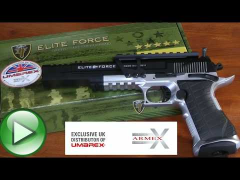New Elite Force Guns - http://www.airgungear.co.uk for all the latest stuff. Giles gets to try the Umarex Elite Force Race Gun. This Race Gun Is - CO2 Powered 12 Gram Capsule 6mm P...
