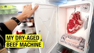 How To Dry Age Beef At Home by Alex French Guy Cooking
