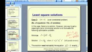 Mod-05 Lec-11 Linear Quadratic Regulator (LQR) -- II