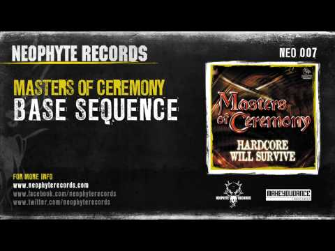 Masters Of Ceremony - Base Sequence