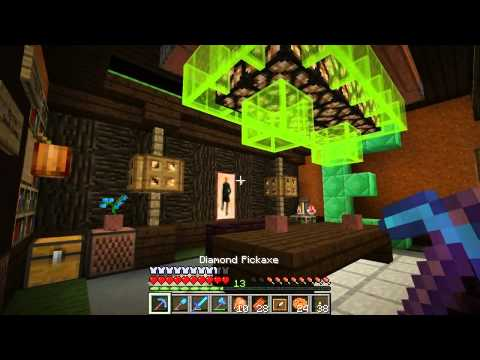 Episode) - Minecraft Survival. In this Minecraft episode we start planning out and building the leaf canopy to the tree house. Then we do a little tour around the server and build a sky rail with generikb....