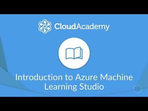 Azure Machine Learning Studio: Introduction To Machine Learning