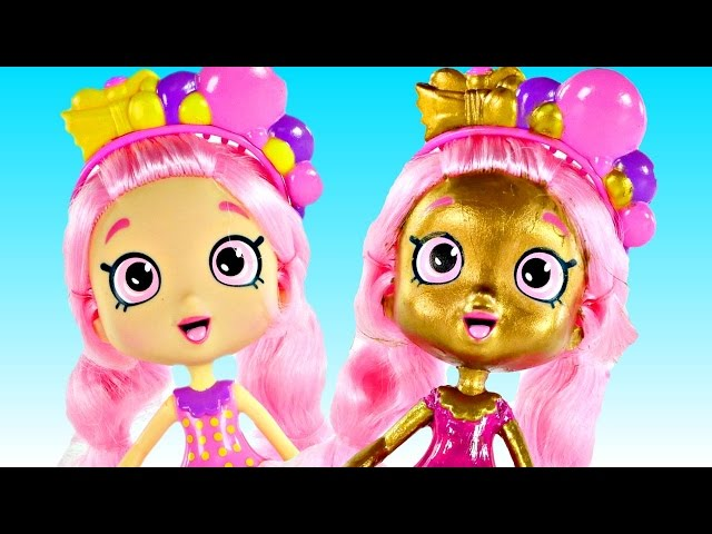 Bubbleisha shoppies shopkins toy doll how to make shoppies shopkin