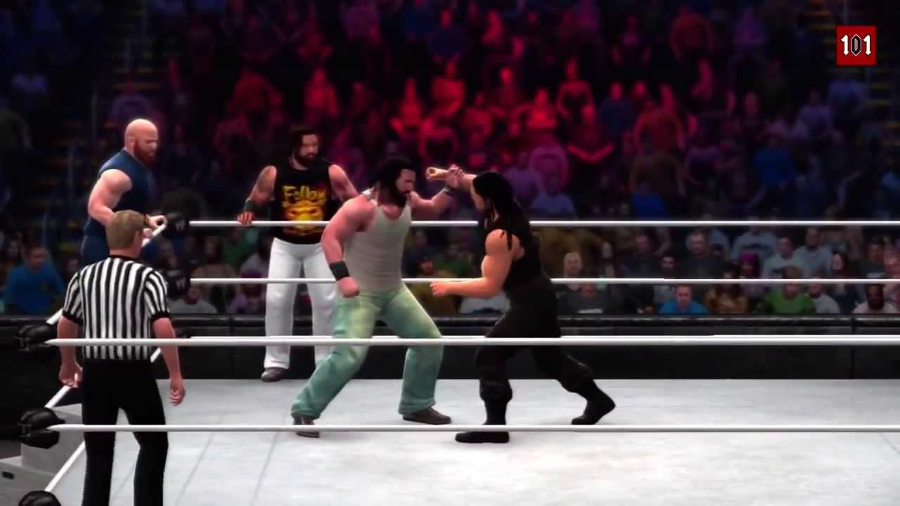 Chamber 2014     The Shield vs The Wyatt Family  WWE 2K14 MACHINIMAWwe 2k14 The Wyatt Family Vs The Shield
