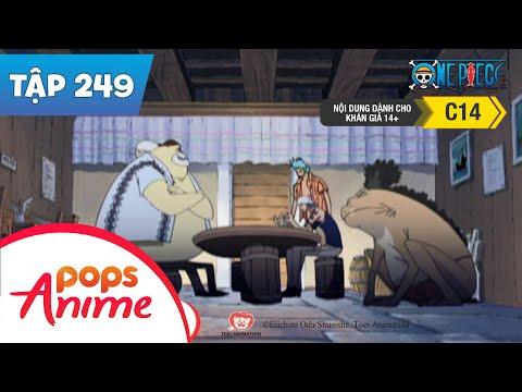 One Piece Tập 249 - Tham Vọng Của Spandam - Ngày Hải Liệt Xa Run Sợ - Phim Hoạt Hình - Thời lượng: 22:49.