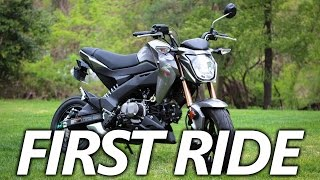 10. Kawasaki Z125 Pro First Ride | Is the Honda Grom Better?