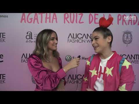 Entrevista CÓSIMA RAMIREZ, ÁGATHA RUIZ DE LA PRADA. #AFW19 видео